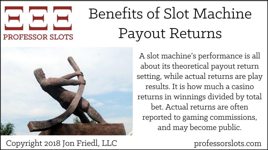 Benefits of Slot Machine Payout Returns