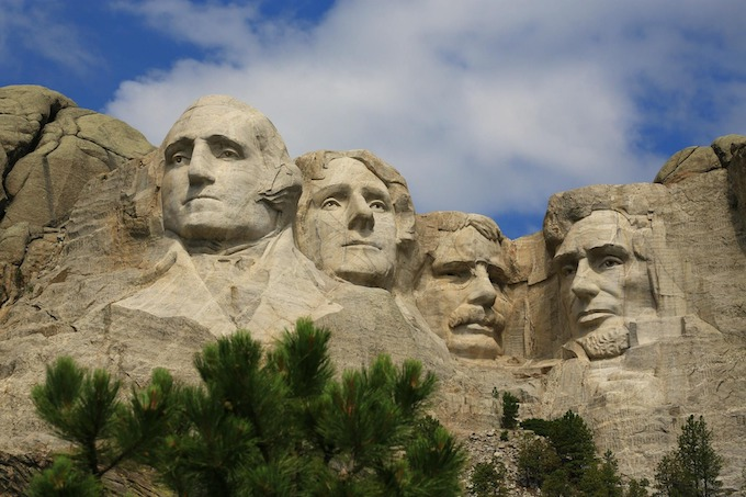 South Dakota Slot Machine Casino Gambling 2018: Mount Rushmore National Memorial.