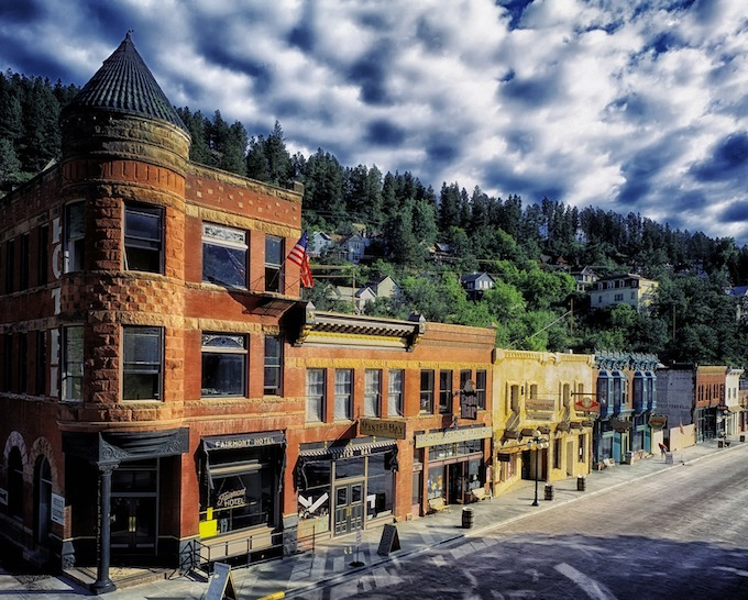 South Dakota Slot Machine Casino Gambling 2018: The city of Deadwood.