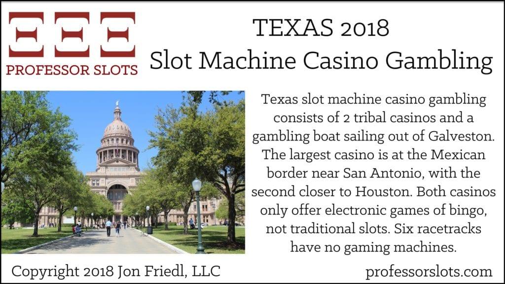 Texas Slot Machine Casino Gambling 2018