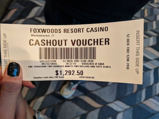 Foxwoods Casino Trip Report 2018 in Southern New England.