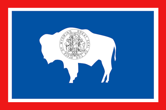 Wyoming Slot Machine Casino Gambling 2018: The Great Seal of the state of Wyoming.