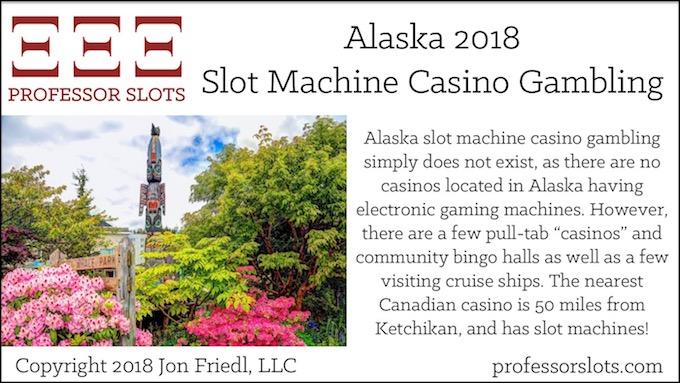Alaska Slot Machine Casino Gambling 2018