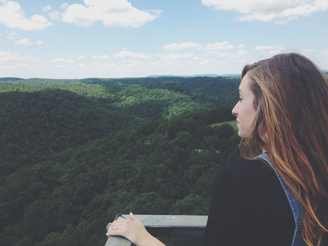 Overlooking View of the Arkansas National Forest (Arkansas Slot Machine Casino Gambling 2018).