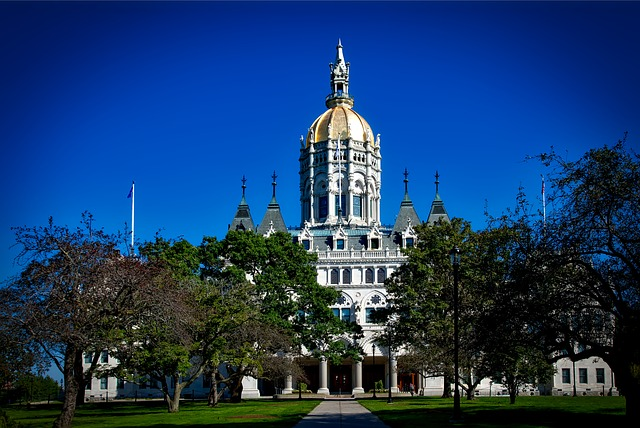 Hartford State Capital Building (Connecticut Slot Machine Casino Gambling 2018)