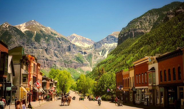 The Town of Telluride, Colorado (Colorado Slot Machine Casino Gambling 2018)