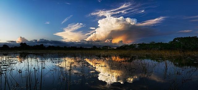 Storm Clouds Over Water [Florida Slot Machine Casino Gambling 2018].