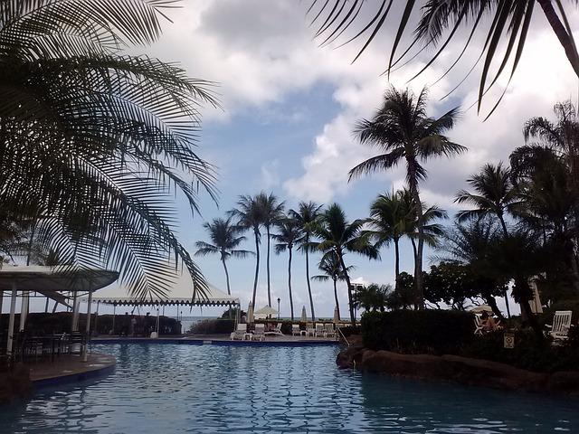 Resort Swimming Pool [Guam Slot Machine Casino Gambling 2018]