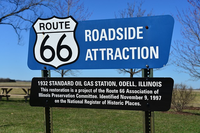 Route 66 Roadside Attraction in Odell [Illinois Slot Machine Casino Gambling 2018]