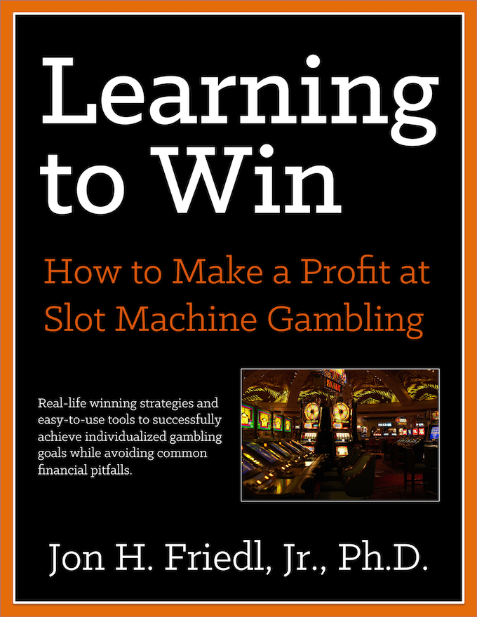 In LEARNING TO WIN, Friedl uses a decade of research, observations, experiences, and analysis with new and older-style slot machines. Study of new casino operational technologies has resulted in gambling strategies and assessment techniques matched to the most common gambling goals in an easy-to-understand manner.