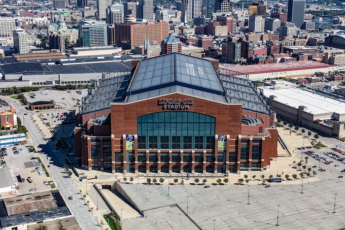 Lucas Oil Stadium in Indianapolis [Indiana Slot Machine Casino Gambling 2018]