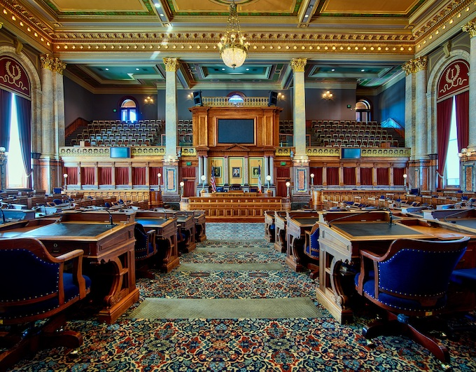 State House of Representatives [Iowa Slot Machine Casino Gambling 2018]