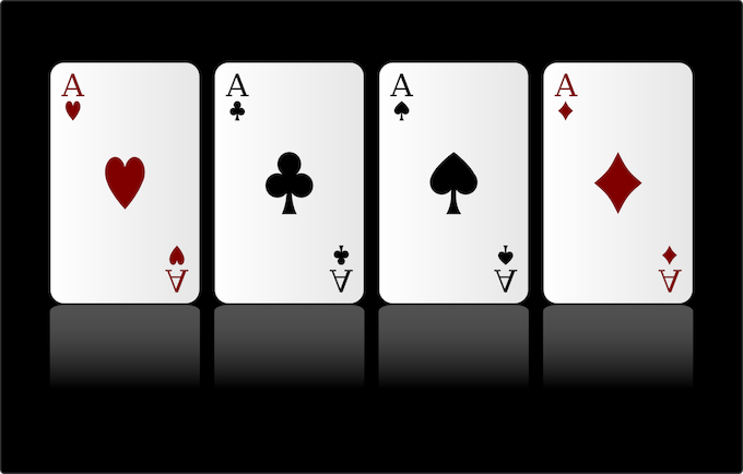 Quad Aces! [Win at Video Poker]