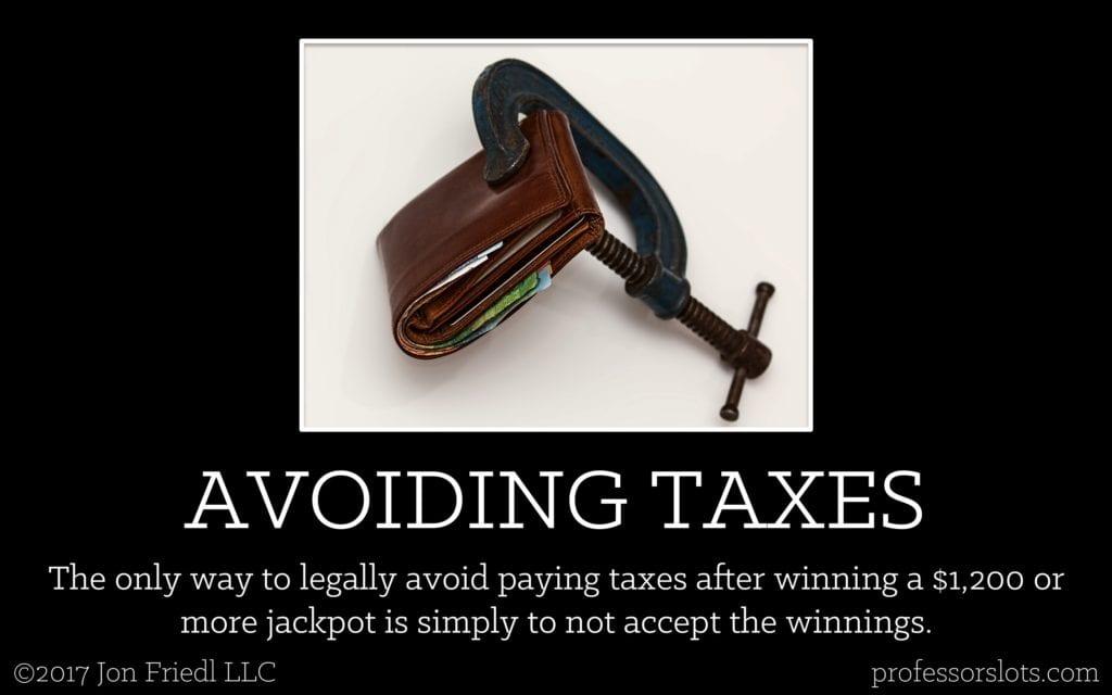 How to Avoid Taxes on a Taxable Jackpot [60-Thousand-Dollar Slot Machine Jackpot]
