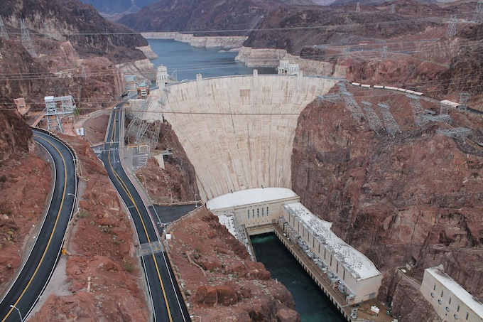 Hoover Dam near Boulder City [Nevada Slot Machine Casino Gambling 2019]