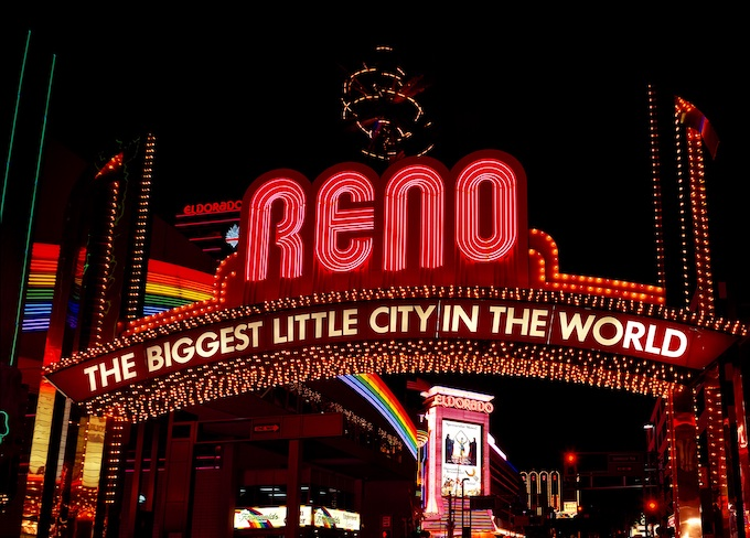 Reno, The Biggest Little City in the World [Nevada Slot Machine Casino Gambling 2019]