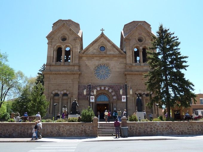 The Cathedral Basilica of St. Francis of Assisi [New Mexico Slot Machine Casino Gambling 2019]