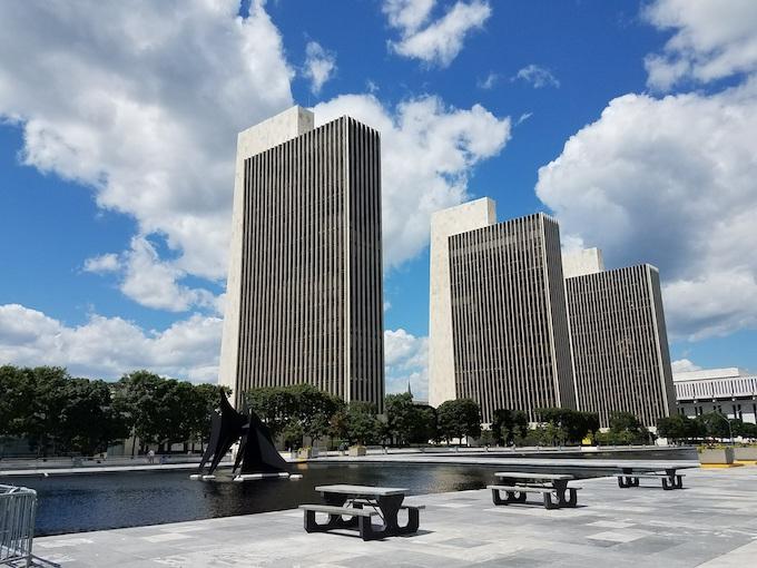 Empire State Plaza Convention Center in Albany [New York Slot Machine Casino Gambling 2019]