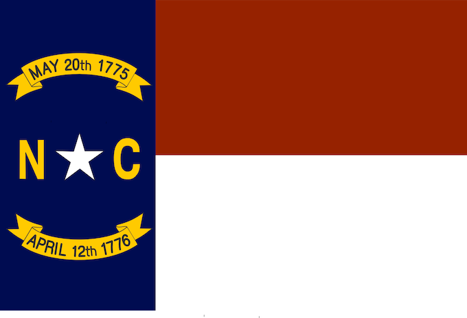 The State Flag of North Carolina [North Carolina Slot Machine Casino Gambling 2019]