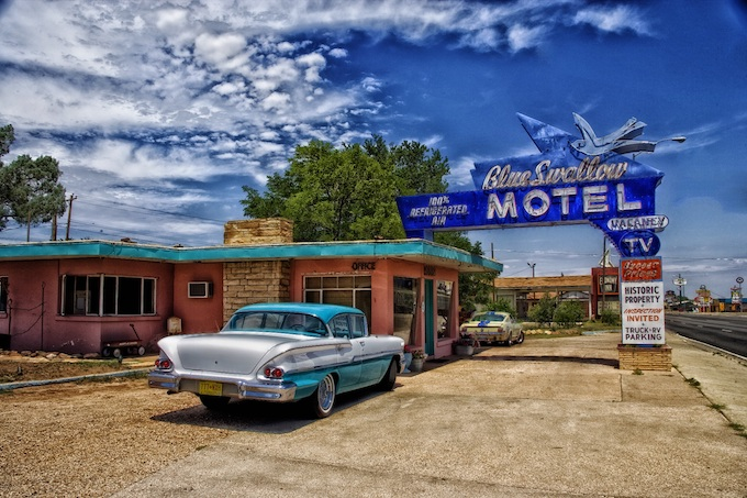 Blue Swallow Motel in Tucumcari [New Mexico Slot Machine Casino Gambling 2019]