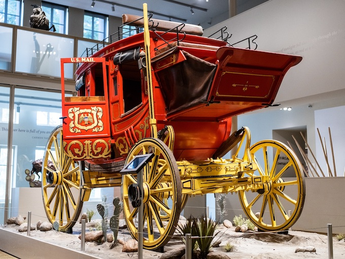Elegant Stagecoach in a Museum [North Dakota Slot Machine Casino Gambling 2019]