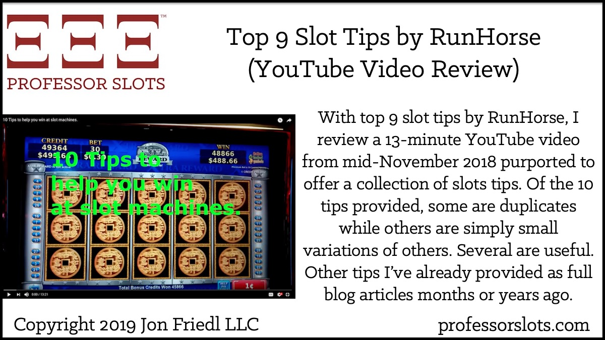 Video Slots Tips