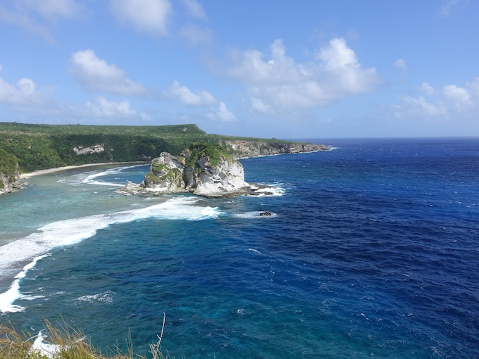 Bird Island at the Coast of Saipan [Northern Mariana Islands Slot Machine Casino Gambling 2019]