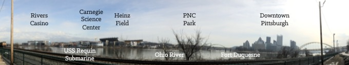Pittsburgh's North Shore Neighborhood on the Ohio River [Rivers Casino Pittsburgh]