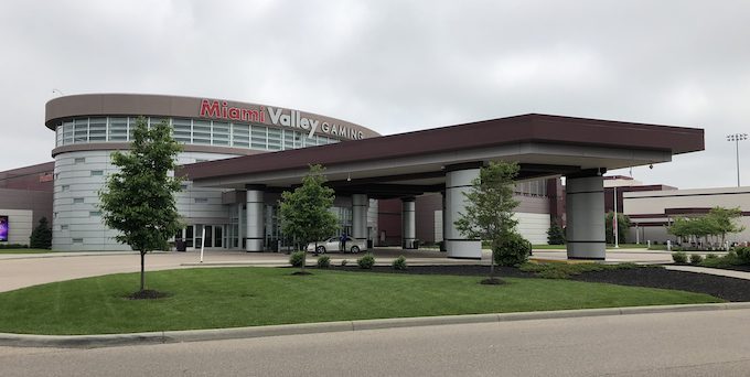 Valet Parking at MVG Entrance [Miami Valley Gaming]