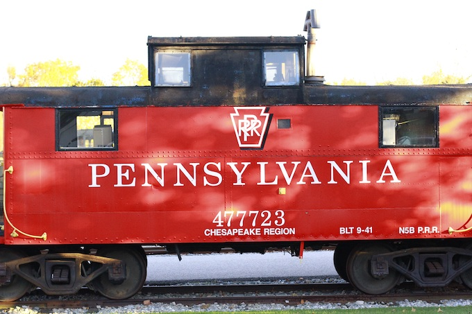 Pennsylvania Railroad Car 477723 [Pennsylvania Slot Machine Casino Gambling 2019]