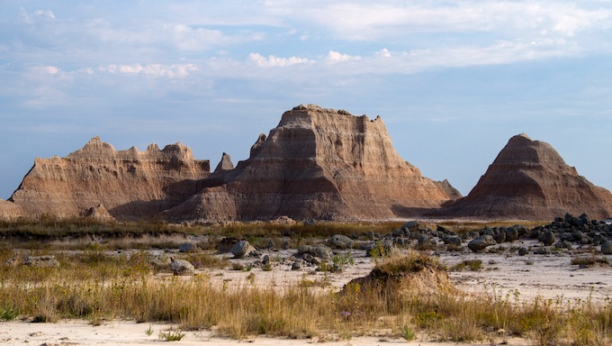 Buttes at Badlands National Park [South Dakota Slot Machine Casino Gambling 2019]