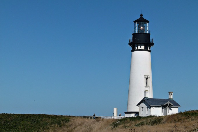 Yaquina Head Light House in Newport [Oregon Slot Machine Casino Gambling 2019]