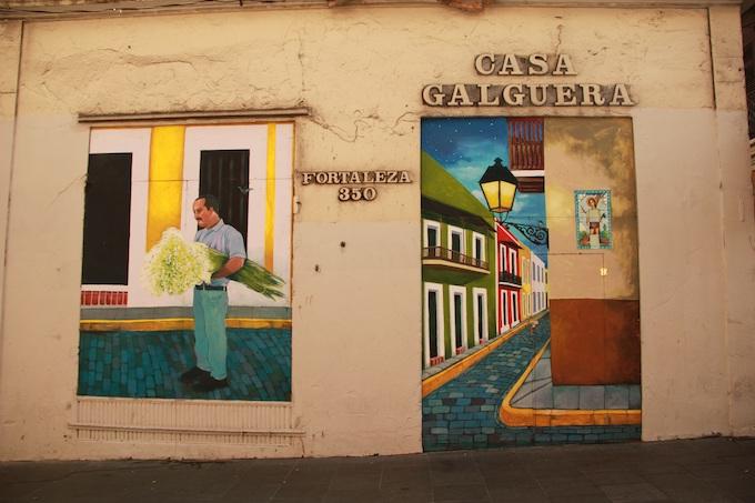 Street Wall Painting in San Juan [Puerto Rico Slot Machine Casino Gambling 2019]