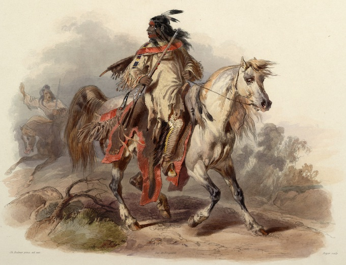 Karl Bodmer Painting, 1843 [American Indian Tribal Casinos]