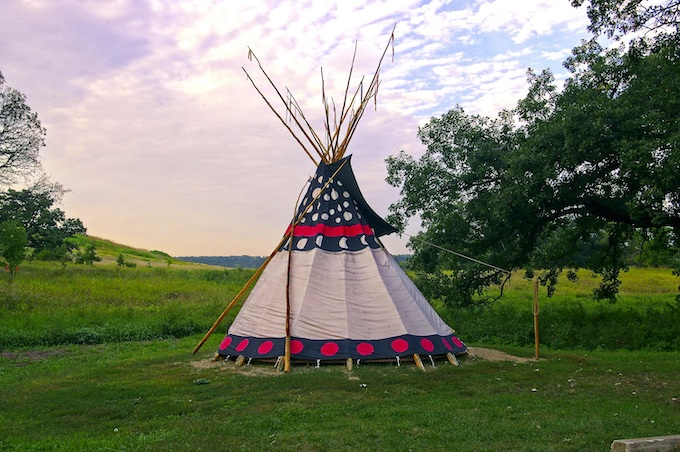 Upper Sioux Agency Tepee [American Indian Tribal Casinos]