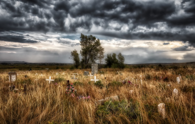 Shoshone Tribal Cemetery, Wyoming [American Indian Tribal Casinos]
