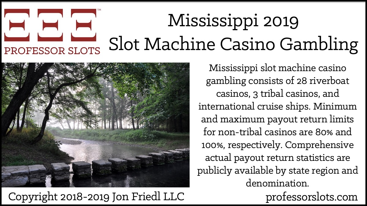 best slot machines to play in biloxi 2019 Mississippi Slot Machine Casino Gambling in 2019 | Professor Slots