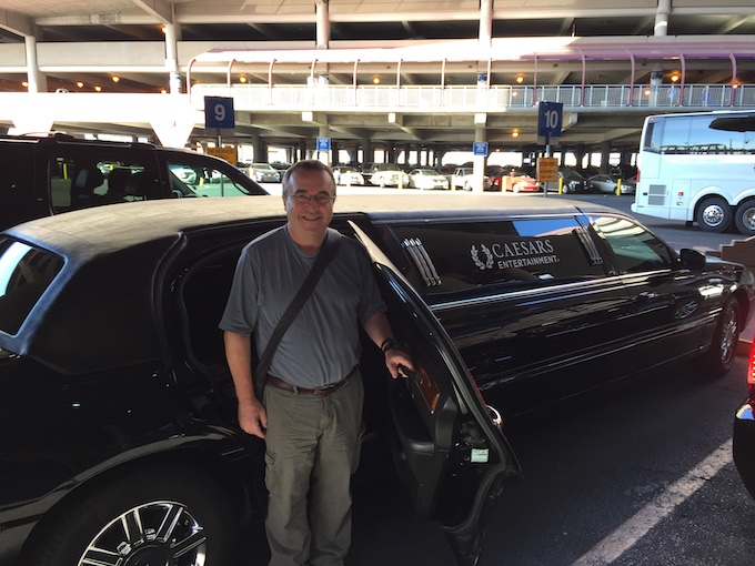 Comp'd limo from the Airport in Las Vegas [About Professor Slots]
