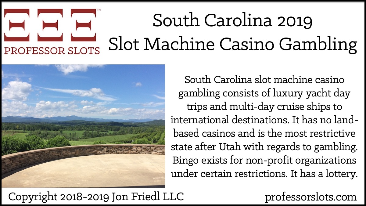 gambling age in south carolina