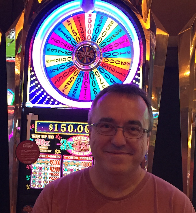 Me and My $5,000 Jackpot on the Bonus Wheel of a $5 Slot Machine [High Limit Slots Tricks]