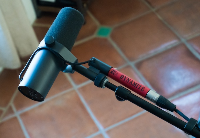 Shure SM7B Mic with Dynamite Pre-Amp [Recreational Gambling Podcast]