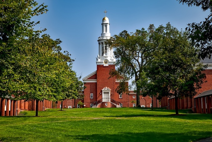 Yale's Divinity School Library [Connecticut Slot Machine Casino Gambling in 2019]