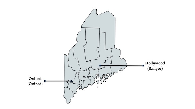 Map of Maine Casinos [Maine Slot Machine Casino Gambling in 2020]