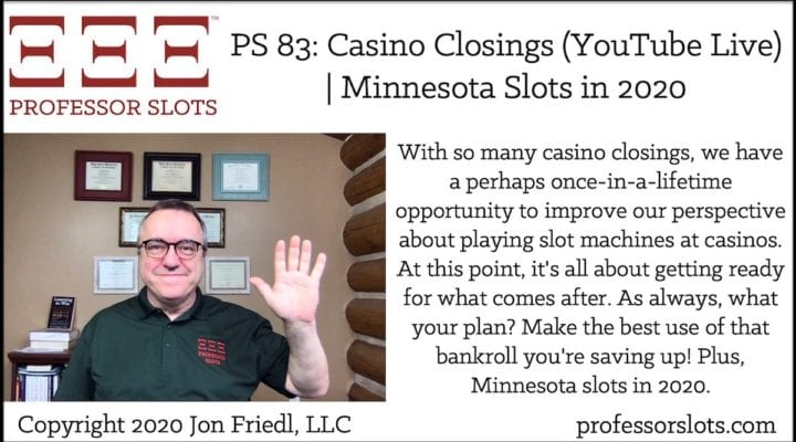 Are you getting that itch to go play slots? I know I am! Instead, let's engage in some self-learning during our self-quarantine. Here, I review my recent posts on wide-ranging slots topics like money management tips, slots history, and how to start a podcast for your benefit & enjoyment. Plus, Mississippi slots in 2020.