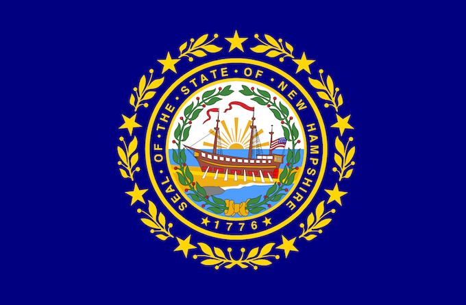 The State Flag [New Hampshire Slot Machine Casino Gambling in 2020]
