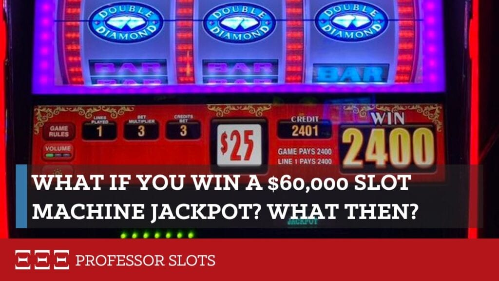 Do you want to win a 60-thousand-dollar slot machine jackpot? Are you sure? What's your plan in case you do win? From making the bet to income tax preparation, I'll go over everything you'll need to be prepared for. Like, how many $100 bills can you carry without being obvious? And is there a legal way to not pay income taxes?