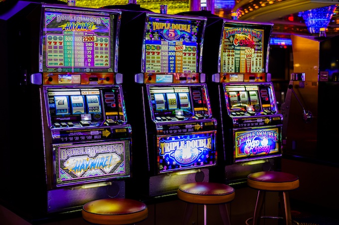 Three Slot Machines in a Row [International Game Technology 2020]