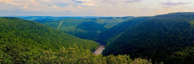 Cheat River Scenic View [West Virginia Slot Machine Casino Gambling in 2020]