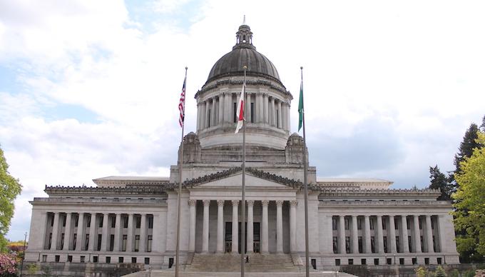 State Capital Building in Olympia [Washington Slot Machine Casino Gambling in 2020]