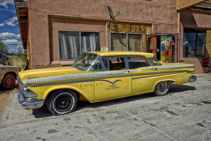 Edsel Ranger Taxicab [Arizona Slot Machine Casino Gambling in 2020]